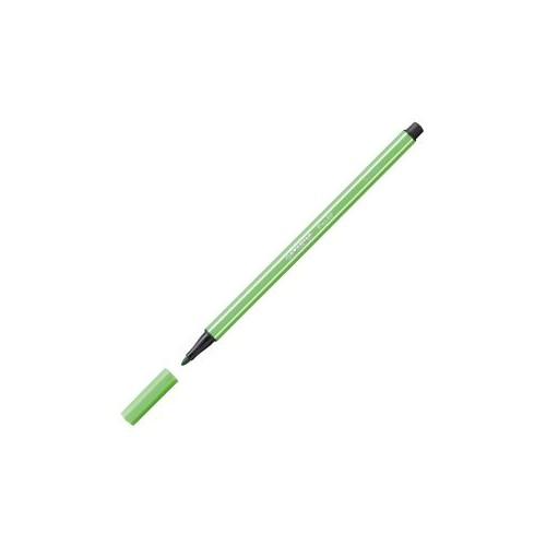 Stabilo 68/43 Fibre-Tip Pen Leaf Grn Bx10