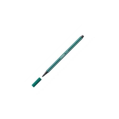 Stabilo 68/53 Fibre-Tip Pen turq Grn Bx10