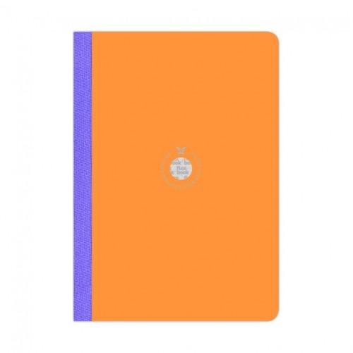 Flex Smartbook A4 Orange/Purple
