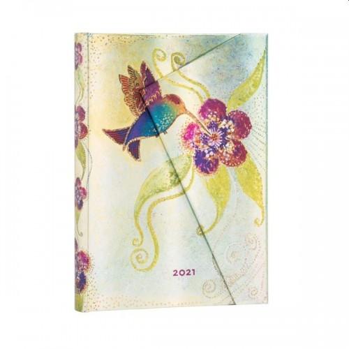 Hummingbird Page a Day 2021 Diary midi