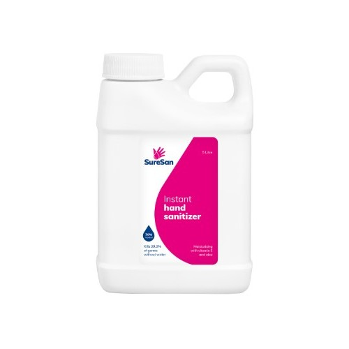 SURESAN SANITIZER 5 LITRE (specially for Single Station STAND06)