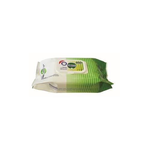 Detox Anti Bacterial Wipes pk 120 wipes