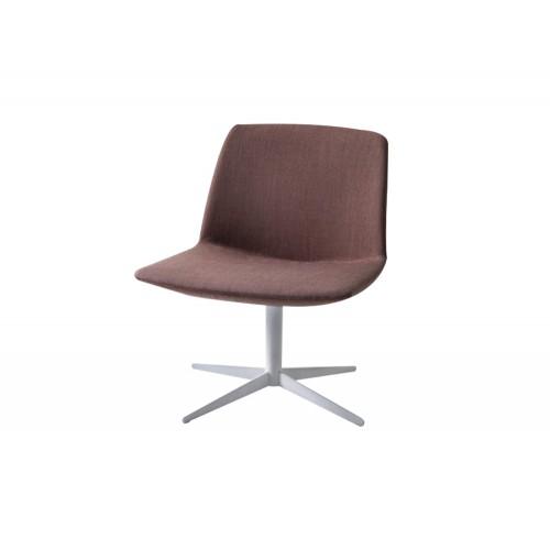 Gaber Kanvas Lounge Chair with 4 Star Swivel Base