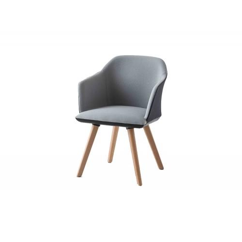 Gaber Manaa Canteen and Breakout 4 Leg Wooden Armchair