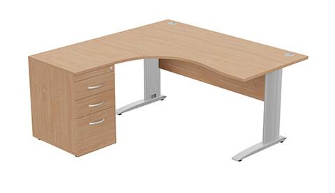 Radial Desks