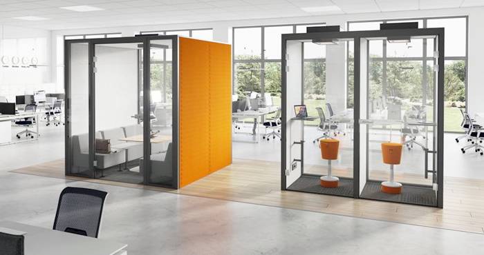 Home Page Banner - Meeting Pods and Booths