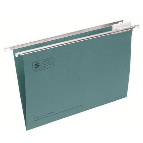 Suspension Files Green F/Scp with Tabs and Inserts PK50 by , OSG1106