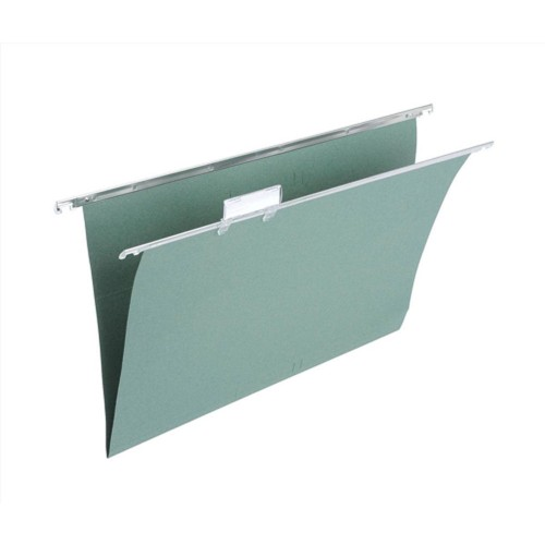 Foolscap Tabbed Suspension Hanging Files for Filing Cabinets (Pack of 50)
