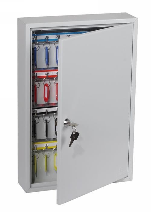 Phoenix KC Series 64 Hook Key Cabinet with Key Lock KC0602K