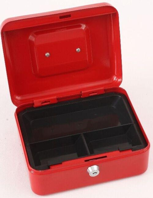 "Phoenix 8"" Cash Box CB0101K with Key Lock"