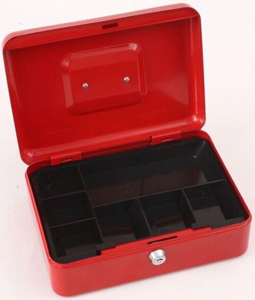 "Phoenix 10"" Cash Box CB0102K with Key Lock"