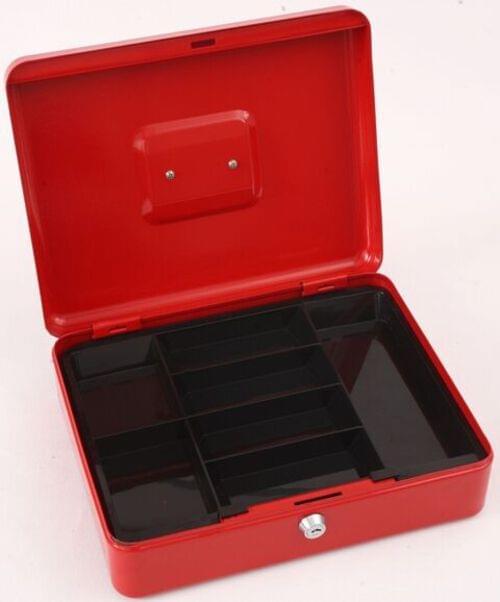"Phoenix 12"" Cash Box CB0103K with Key Lock"