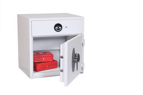 Phoenix Diamond Deposit HS1091ED Size 2 High Security Euro Grade 1 Deposit Safe with Electronic Lock by Phoenix, PSHS1091ED