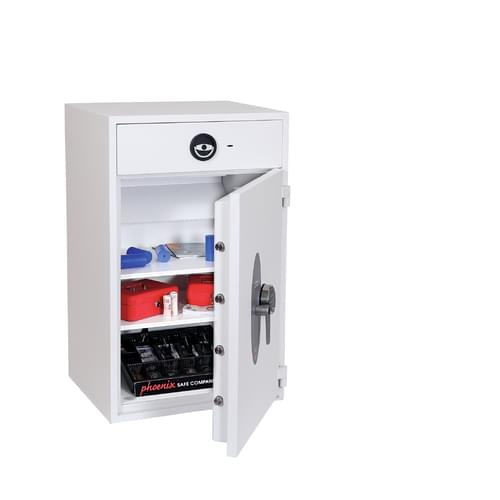 Phoenix Diamond Deposit HS1093ED Size 4 High Security Euro Grade 1 Deposit Safe with Electronic Lock by Phoenix, PSHS1093ED