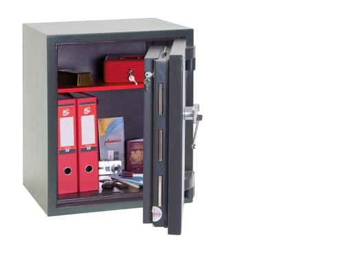 Phoenix Mercury HS2052K Size 2 High Security Euro Grade 2 Safe with Key Lock by Phoenix, PSHS2052K