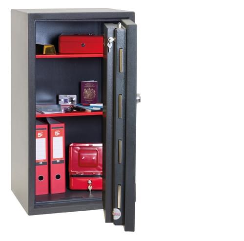 Phoenix Mercury HS2053K Size 3 High Security Euro Grade 2 Safe with Key Lock by Phoenix, PSHS2053K