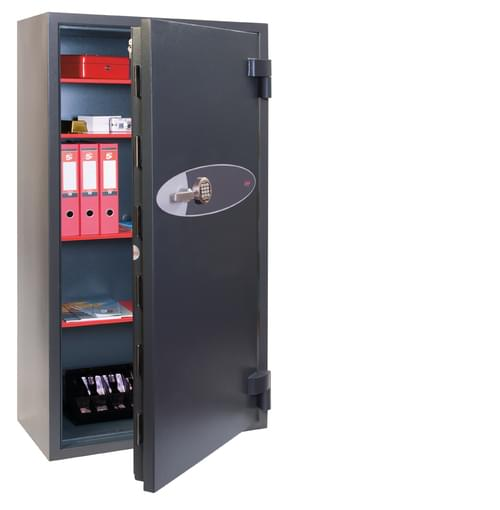 Phoenix Mercury HS2056E Size 6 High Security Euro Grade 2 Safe with Electronic Lock by Phoenix, PSHS2056E