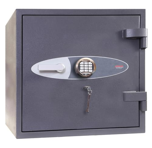 Phoenix Planet HS6071E Size 1 High Security Euro Grade 4 Safe with Electronic & Key Lock by Phoenix, PSHS6071E
