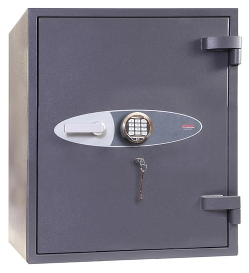Phoenix Planet HS6072E Size 2 High Security Euro Grade 4 Safe with Electronic & Key Lock by Phoenix, PSHS6072E