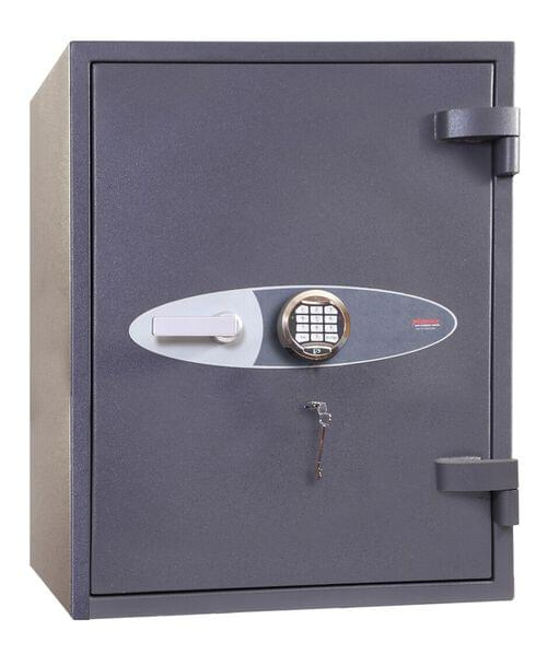 Phoenix Planet HS6073E Size 3 High Security Euro Grade 4 Safe with Electronic & Key Lock by Phoenix, PSHS6073E