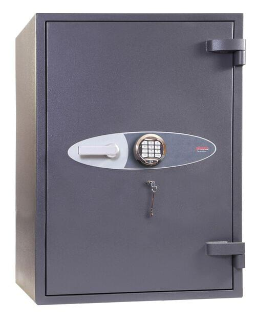 Phoenix Planet HS6076E Size 6 High Security Euro Grade 4 Safe with Electronic & Key Lock by Phoenix, PSHS6076E