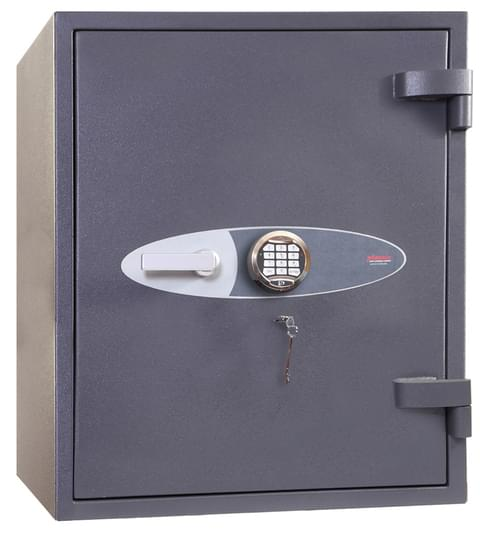 Phoenix Cosmos HS9072E Size 2 High Security Euro Grade 5 Safe with Electronic & Key Lock by Phoenix, PSHS9072E