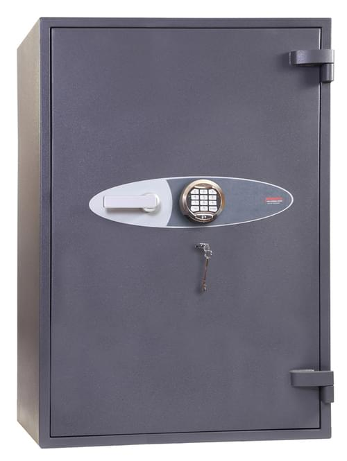Phoenix Cosmos HS9073E Size 3 High Security Euro Grade 5 Safe with Electronic & Key Lock by Phoenix, PSHS9073E