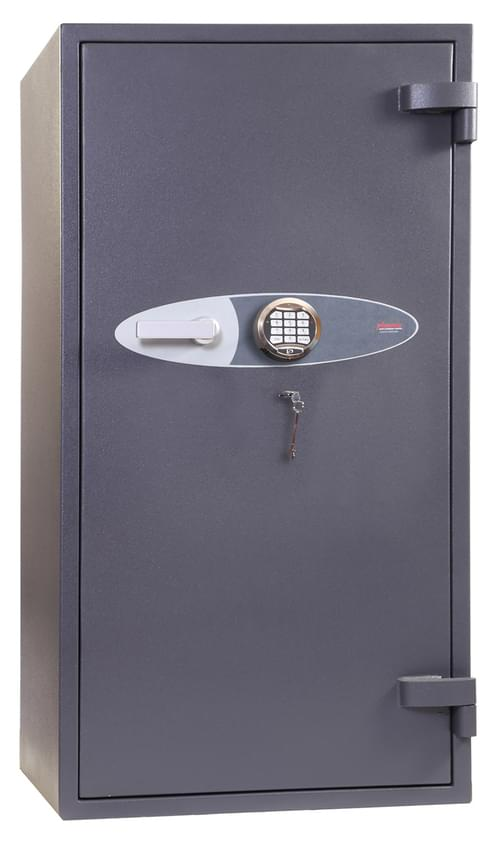 Phoenix Cosmos HS9074E Size 4 High Security Euro Grade 5 with Safe Electronic & Key Lock by Phoenix, PSHS9074E