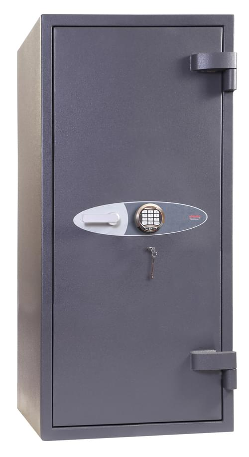 Phoenix Cosmos HS9075E Size 5 High Security Euro Grade 5 Safe with Electronic & Key Lock by Phoenix, PSHS9075E