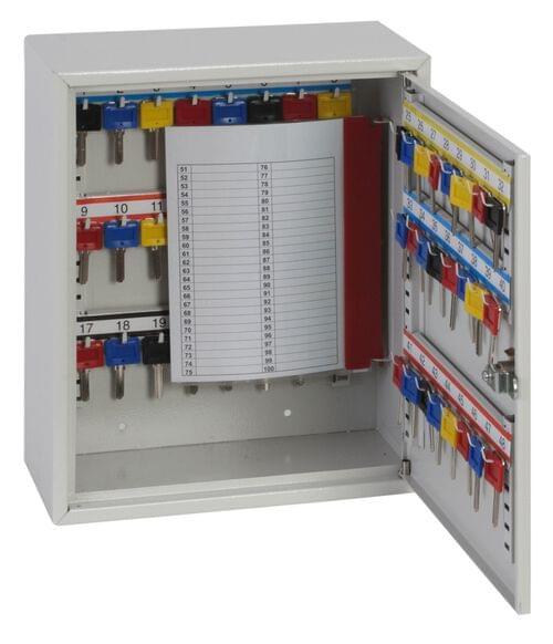 Phoenix Deep Key Cabinet KC0301K 50 Hook with Key Lock