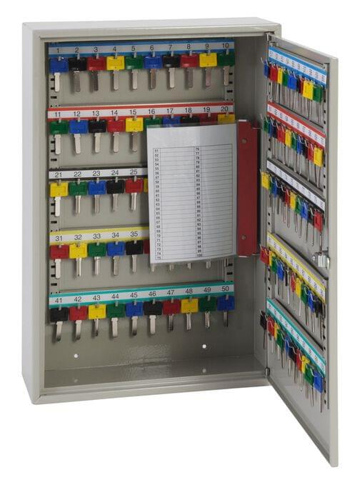Phoenix Deep Key Cabinet KC0302M 100 Hook with Mechancical Combination Lock