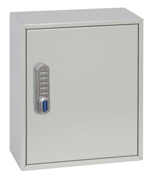 Phoenix Deep Plus & Padlock Key Cabinet KC0501E 24 Hook with Electronic Code Lock by Phoenix, PSKC0501E