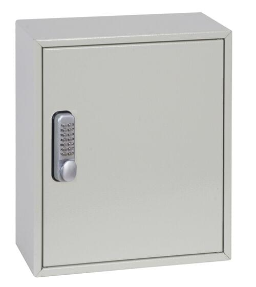 Phoenix Deep Plus & Padlock Key Cabinet KC0501M 24 Hook with Mechanical Combination Lock