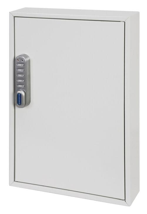 Phoenix Deep Plus & Padlock Key Cabinet KC0502E 50 Hook with Electronic Code Lock by Phoenix, PSKC0502E