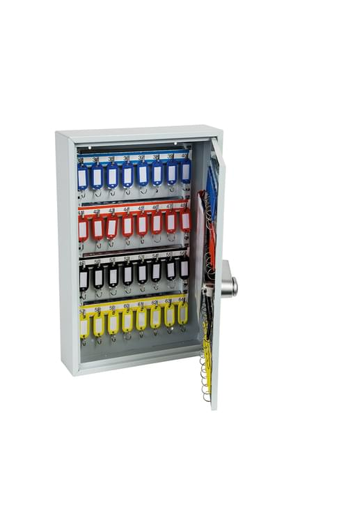 Phoenix Commercial Key Cabinet KC0602E 64 Hook with Electronic Lock.