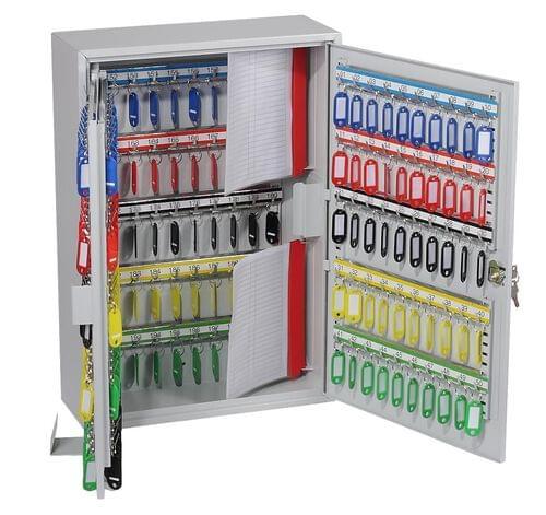 Phoenix Commercial Key Cabinet KC0604K 200 Hook with Key Lock. by Phoenix, PSKC0604K