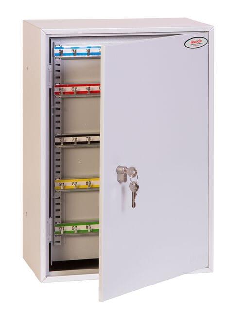 Phoenix Commercial Key Cabinet KC0604P 200 Hook with Key Lock. by Phoenix, PSKC0604P