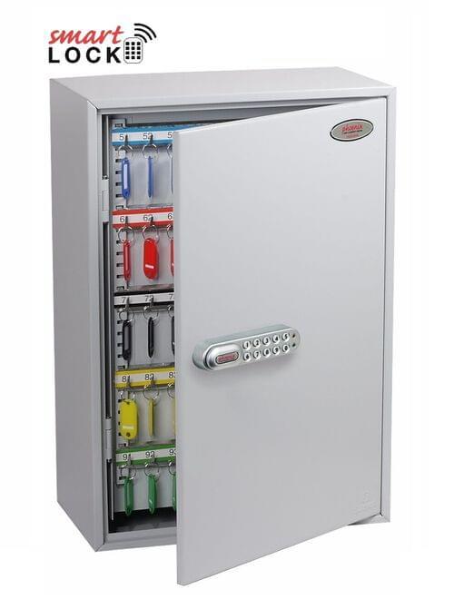 Phoenix Commercial Key Cabinet KC0605N 300 Hook with Net Code Electronic Lock.
