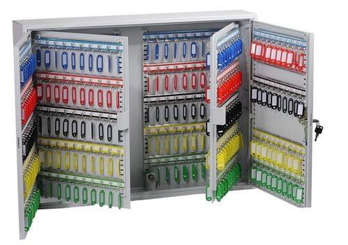 Phoenix Commercial Key Cabinet KC0606K 400 Hook with Key Lock. by Phoenix, PSKC0606K
