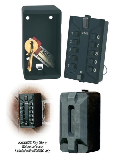 Phoenix Key Store KS0002C Key Safe with Combination Lock & Weathproof Cover