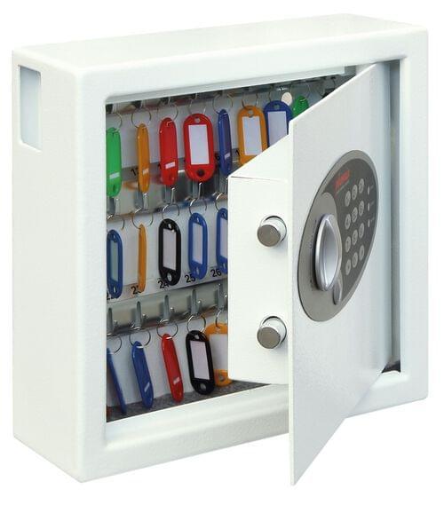 Phoenix Cygnus Key Deposit Safe KS0031E 30 Hook with Electronic Lock by Phoenix, PSKS0031E