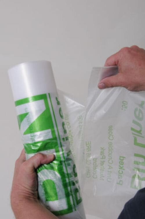 Office-5-Star 50 Large Clear Extra Strong Kitchen Swing Bin Liners Bags Refuse Sacks 30 Litre