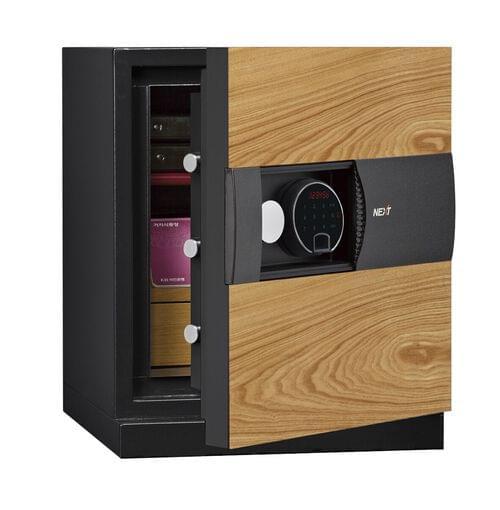 Phoenix Next LS7001FO Luxury Safe Size 1 (Oak) with Fingerprint Lock
