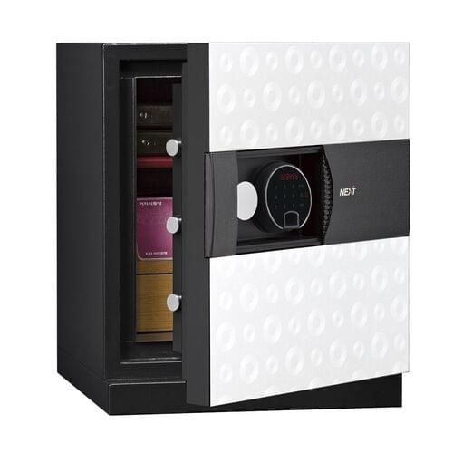 Phoenix Next LS7001FW Luxury Safe Size 1 (White) with Fingerprint Lock