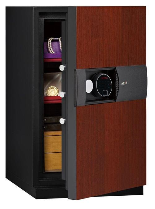 Phoenix Next LS7003FC Luxury Safe Size 3 (Cherry) with Fingerprint Lock