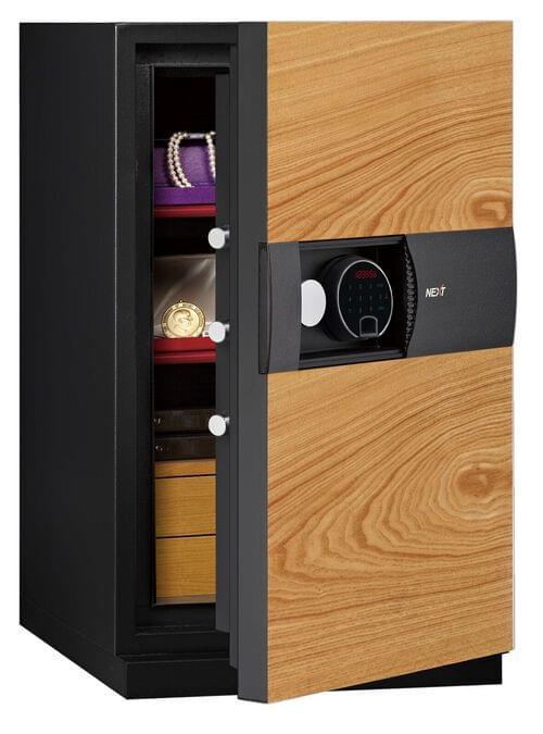 Phoenix Next LS7003FO Luxury Safe Size 3 (Oak) with Fingerprint Lock