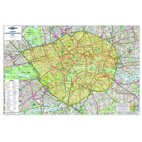 London Congestion Map Besploncon Lamin