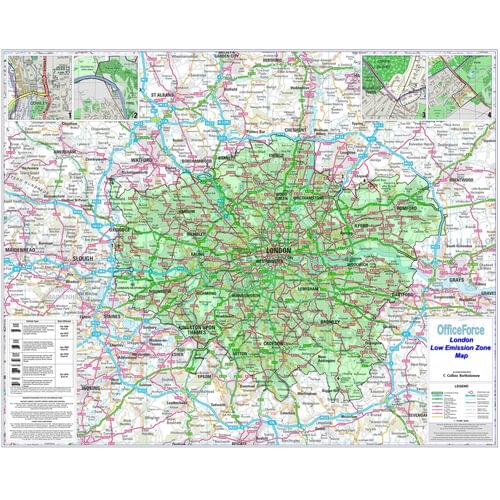 London Low Emission Zone Map Besplonlez