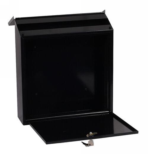 Phoenix Casa Top Loading Mail Box MB0111KB in Black with Key Lock by Phoenix, PSMB0111KB