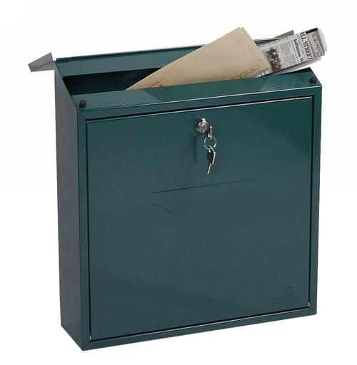 Phoenix Casa Top Loading Mail Box MB0111KG in Green with Key Lock by Phoenix, PSMB0111KG